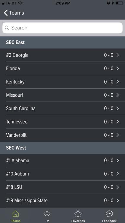 College Football App screenshot-5
