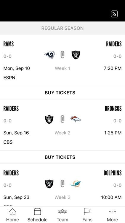 Raiders App