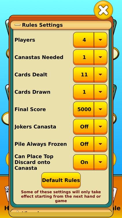 Canasta - Online & offline screenshot-4