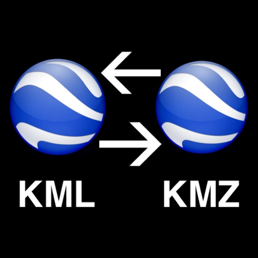 Kml to Kmz-Kmz to Kml app