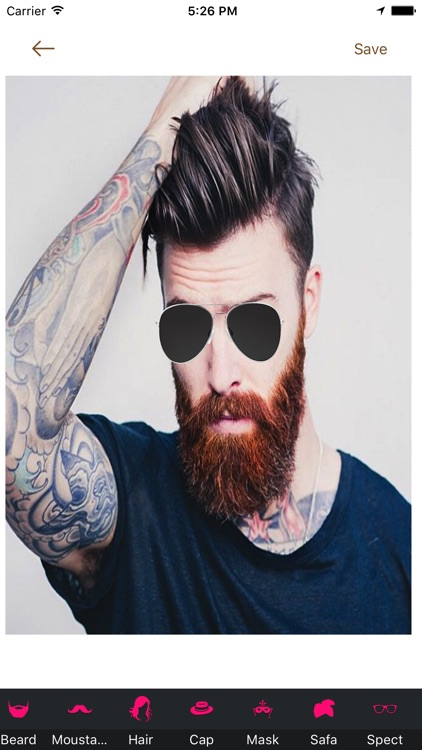 Beard Booth Photo Editor screenshot-3