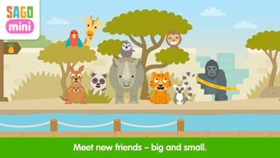 Sago Mini Zoo Screenshot 2