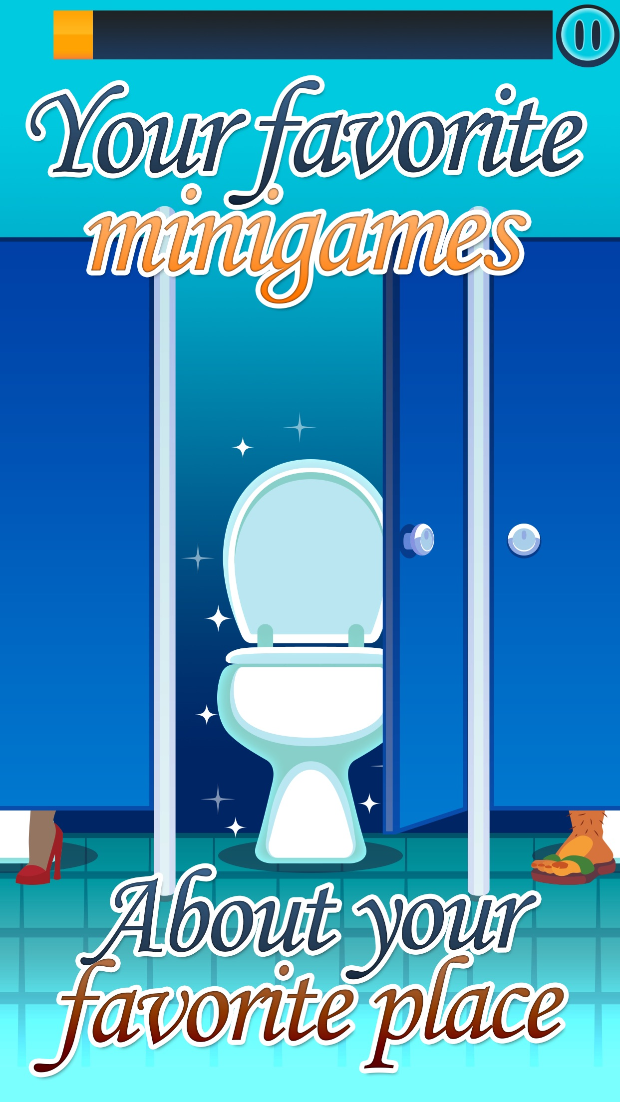Toilet Time: Crazy Mini Games Screenshot