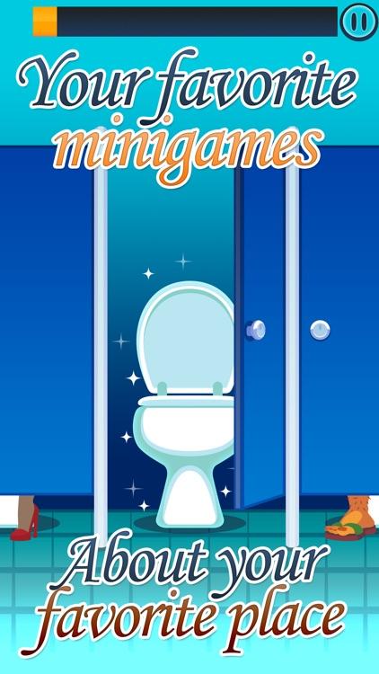 Toilet Time: Crazy Mini Games screenshot-0