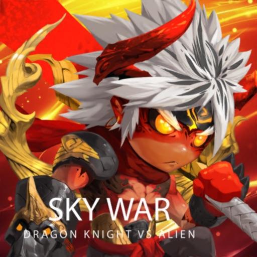 Sky War-Dragon Knight VS Alien iOS App