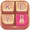 Rose Gold Keyboard Theme Pro