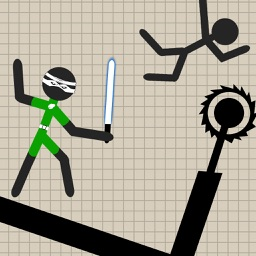 Warrior Stickman Fighting Hero