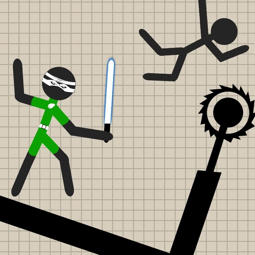 Warrior Stickman Fighting Hero By Afaq Ahmed