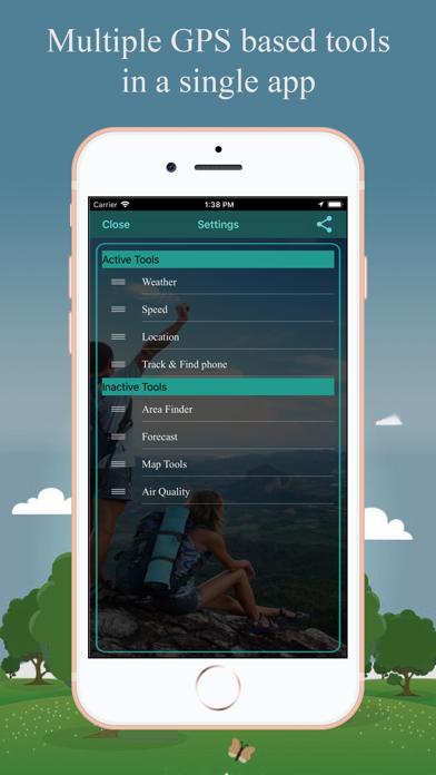 Screenshot of GPS Tools®3