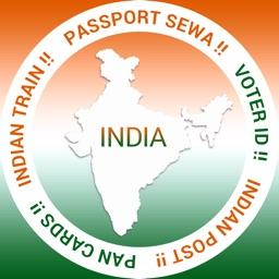 Pan VoterId Card Passport PNR Indian Post