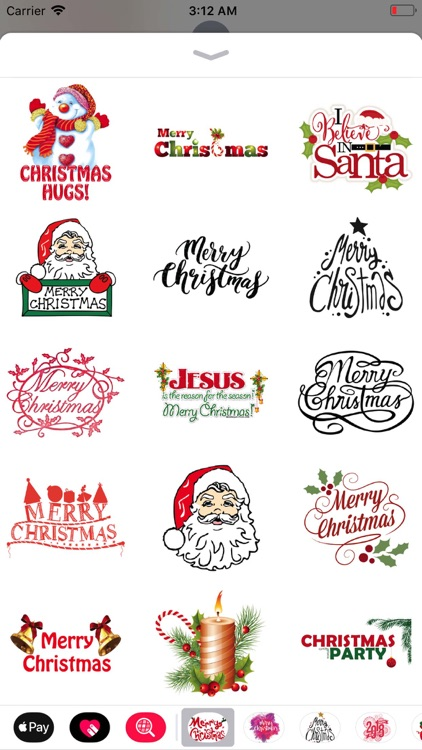 Merry Christmas Sticker Pack screenshot-3