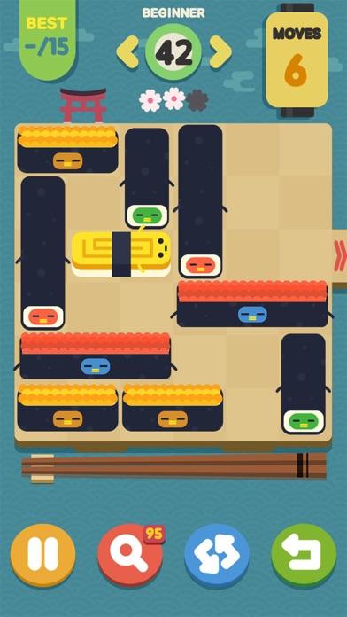 Screenshot 4 Push Sushi - puzzle&unblock