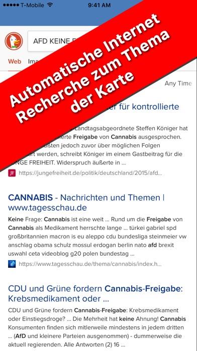Meine Erste Wahl zum BundestagScreenshot von 5