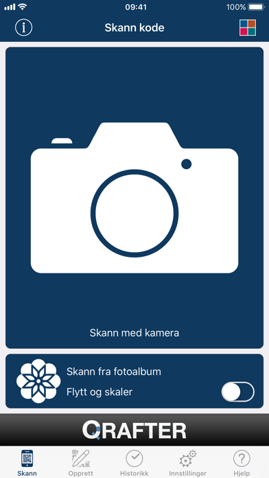 Screenshot for Qrafter Pro - QR-kode in Norway App Store
