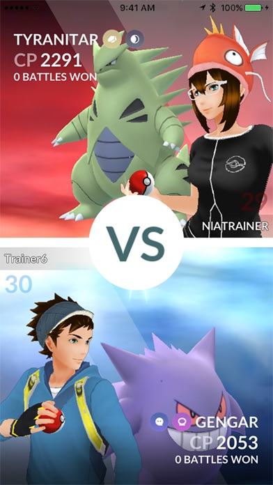 Pokémon GO screenshot 5