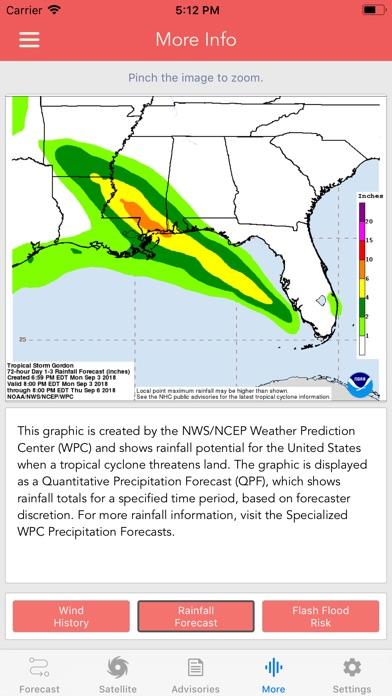 National Hurricane Center Data app image