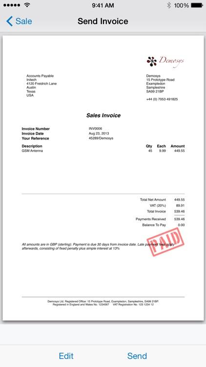 Easy Invoice