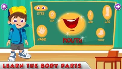 Learn Human Body Parts screenshot two