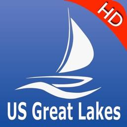 US Great Lakes GPS Charts Pro