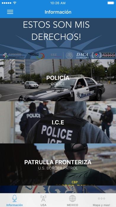 Derecho de Inmigrantes y Ayuda screenshot 1