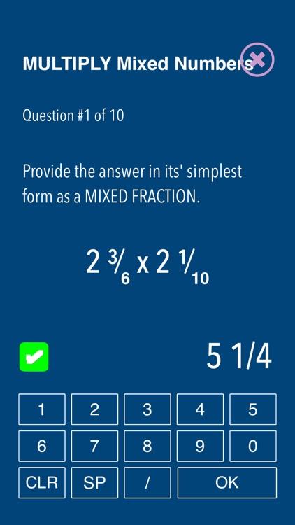 Practice Fraction puzzels screenshot-7