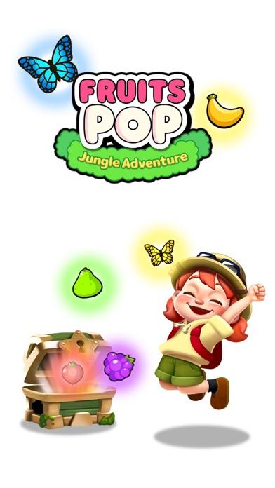 Fruits POP - Jungle Adventure screenshot 5