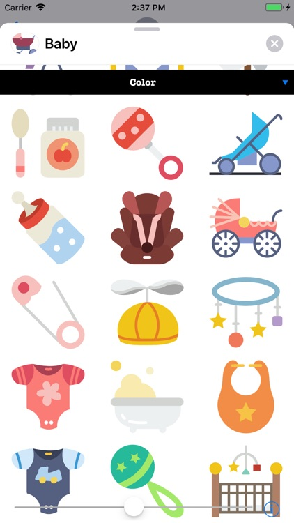 Infant Baby Stickers screenshot-3