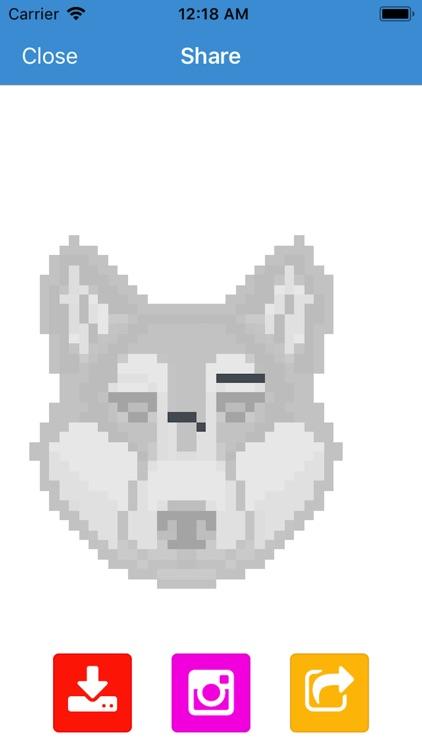 Pixel Art - Tap Number Picture screenshot-4