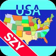地图通 美国 by SZY