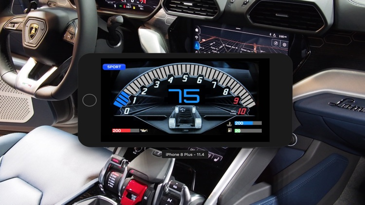 UrusDash: Lambo SUV Dashboard
