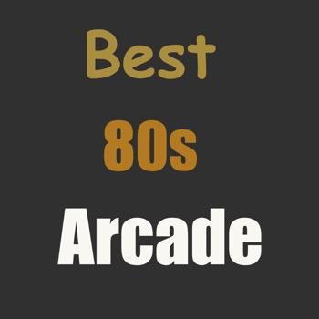 80s Arcade : Best Retro Trivia Logo