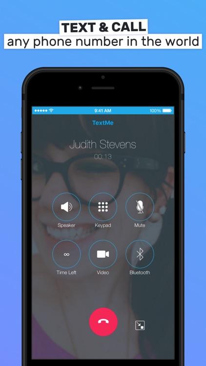 Text Me! - Phone Calls + Text screenshot-3