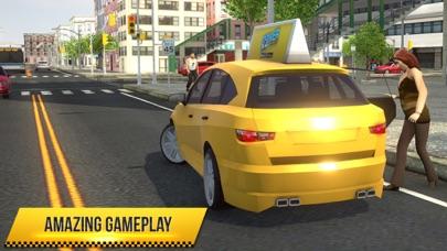 Taxi Simulator 2018 screenshot 4