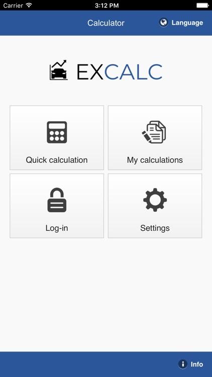 excalc leasing calculator