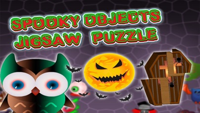 Spooky Objects Jigsaw Puzzle screenshot one