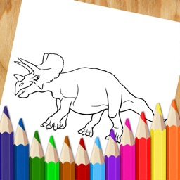 Dinosaur Coloring Book Pages