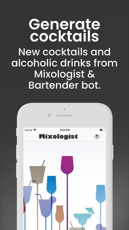 Mixologist Creative bot screenshot-0