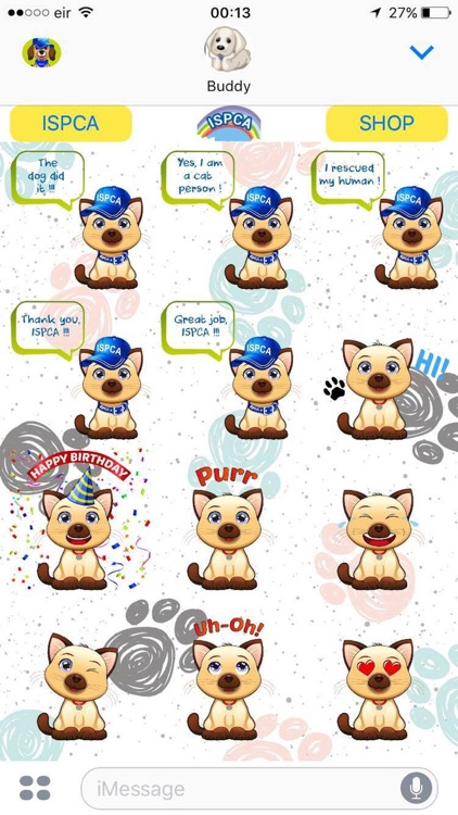 ISPCA Petmoji screenshot-2