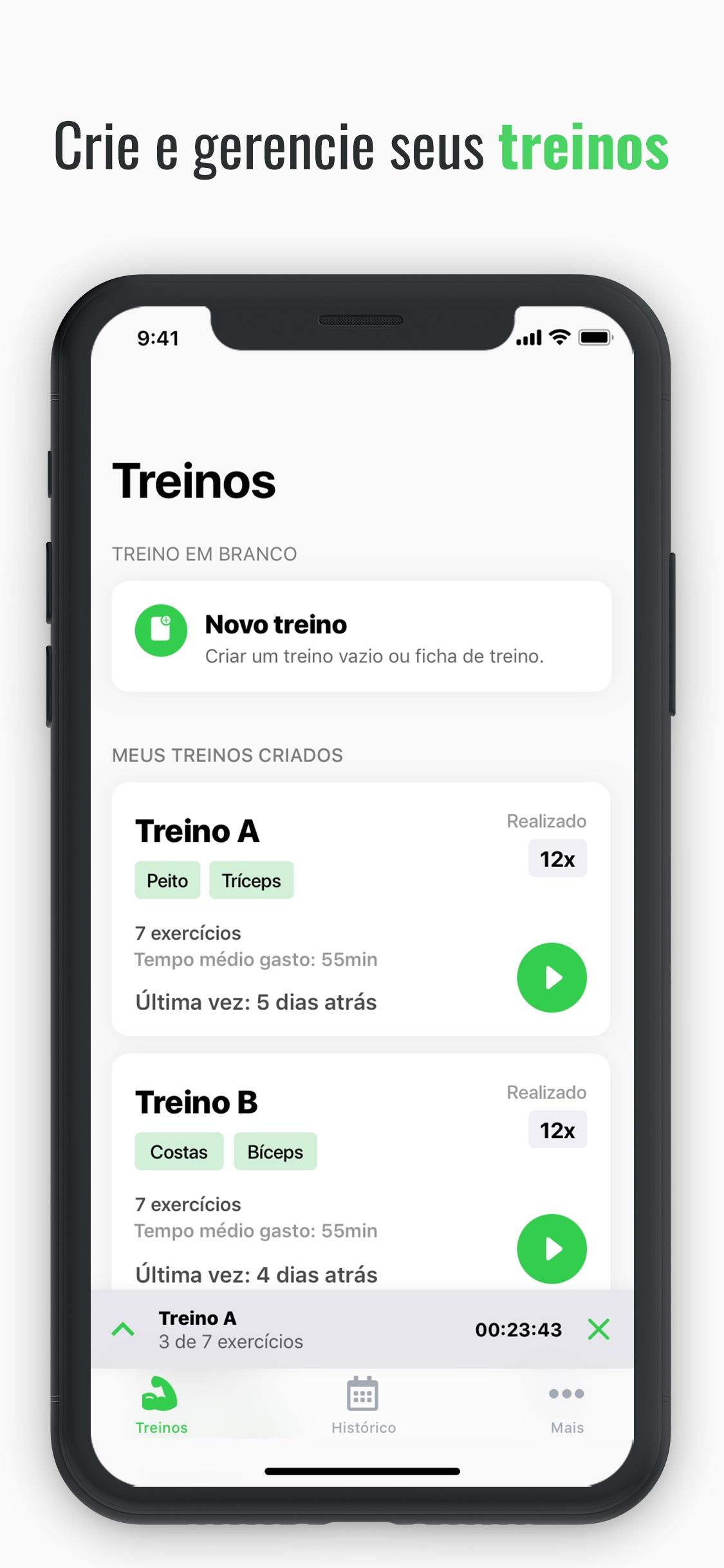 Screenshot do app Hercules