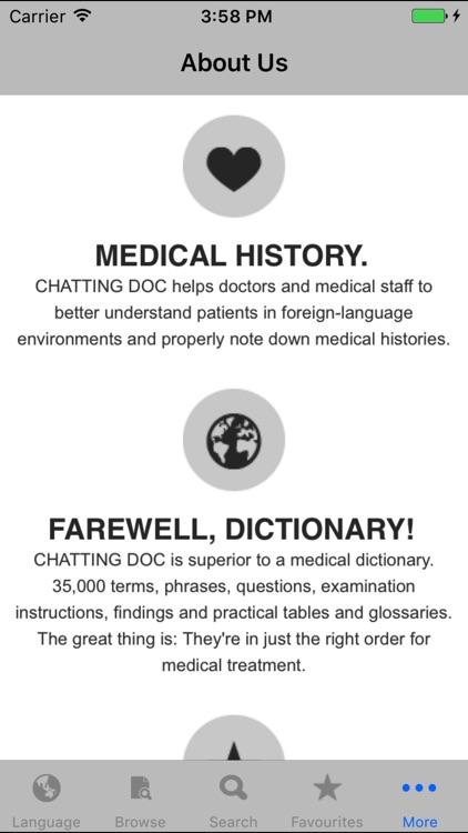 ChattingDoc Medical Translator screenshot-3