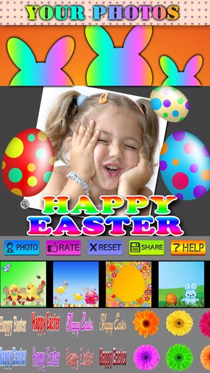 Happy Easter Photo Frames HD screenshot-3