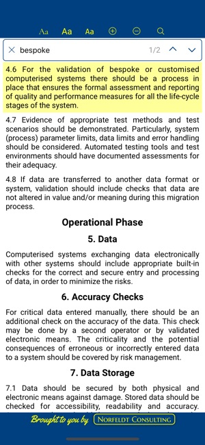 GMP A11 - Computerized Systems on the App Store