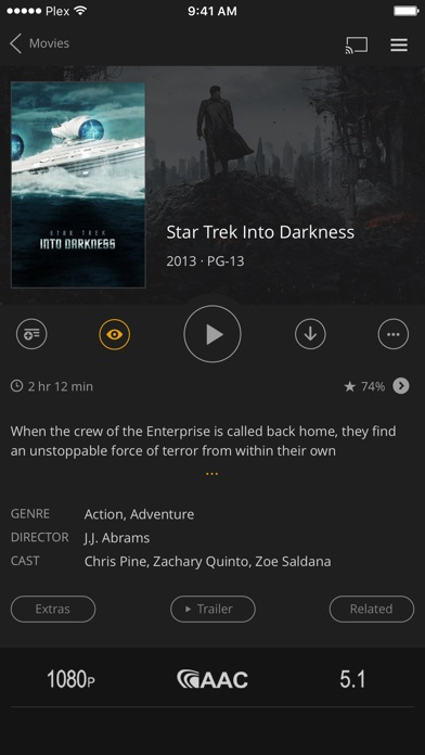Plex screenshot 3