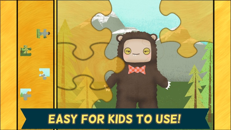 Monster Games for Kids: Jigsaw Puzzles HD