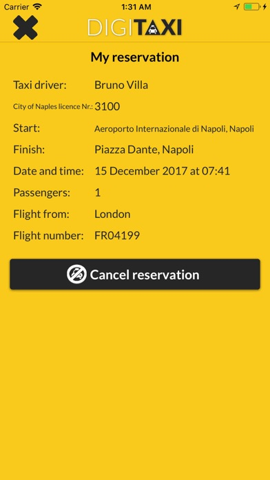 DigiTaxi The Taxi App screenshot four
