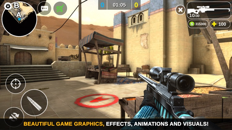 Counter Attack Multiplayer FPS screenshot-4