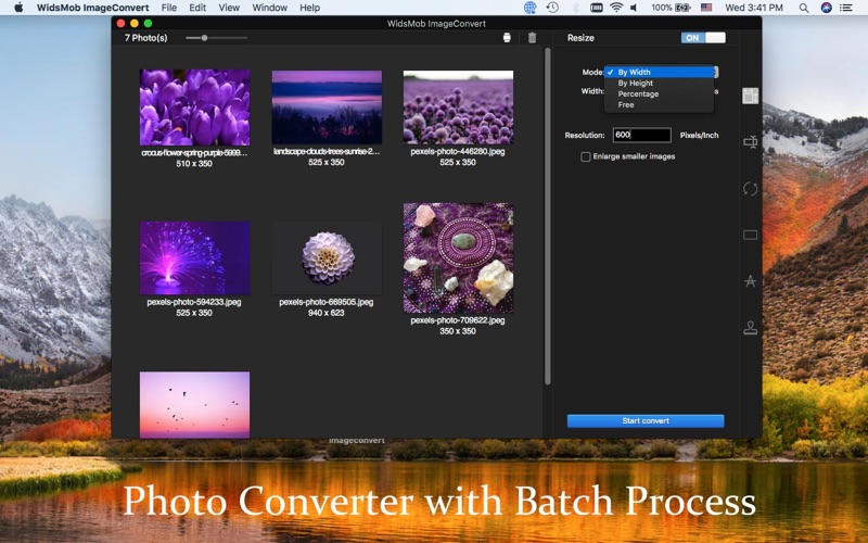 WidsMob ImageConvert-JPG/PNG Screenshots