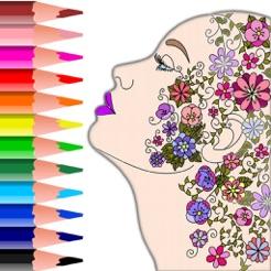 Colorish Coloring Book Mandala 4