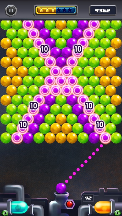 Power Pop Bubble Shooter Mania screenshot-0