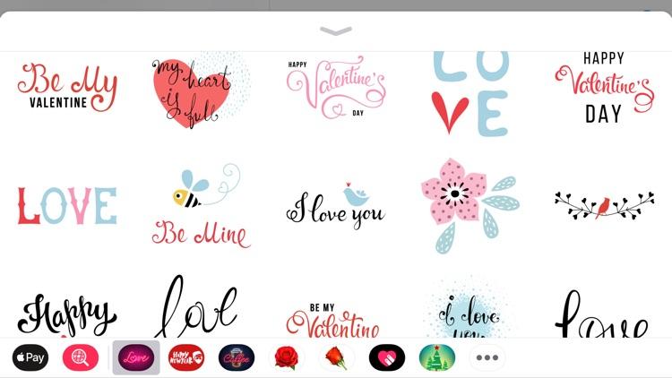 Best Romantic Love Sticker App